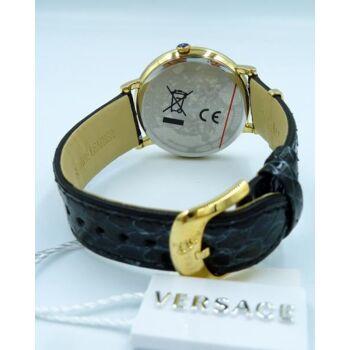 Versace Uhr Uhren Damenuhr VE8101019 V CIRCLE LOGOMANIA EDITION
