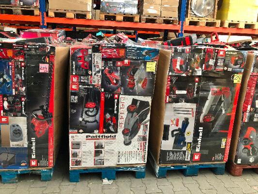 Werkzeugpalette verschiedene Marken Einhell, Güde etc. B - C Ware