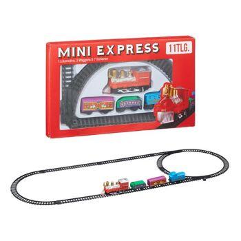 Mini Zug, 11er Set, Weihnachten Sonderposten