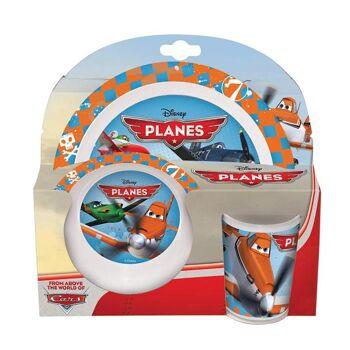 Disney Planes - 3-teiliges Melamin Set