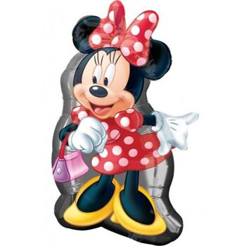 Folienballon Minnie Shape