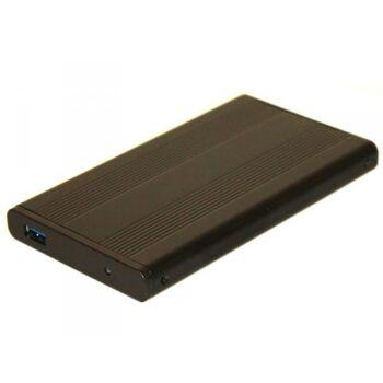 HDD Gehäuse/HDD Case 2.5 Super Speed USB 3.0 SATA Schwarz