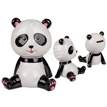 Keramik-Spardose, Panda, ca. 16 cm, 324/PAL