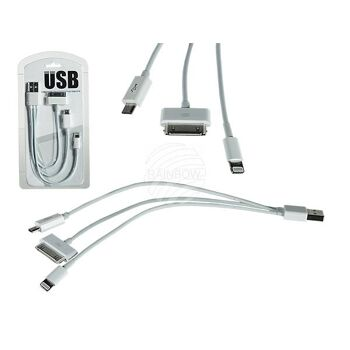 USB-Ladekabel für iPad 1 - 4, iPhone 4 - 5s