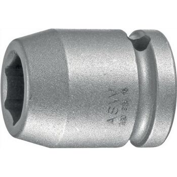Kraftschraubereinsatz SW19mm 1/2Zoll 4KT DIN3121 ASW Form G12,5
