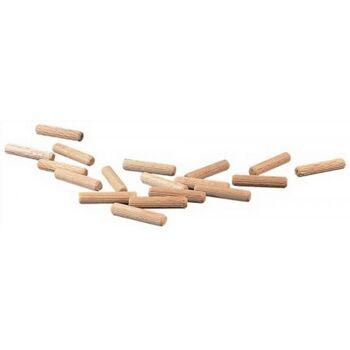 Riffeldübel D: 14mm Länge 140mm Buche, ca. 70 Stück, 1kg