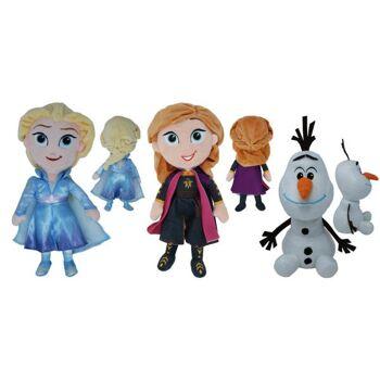 Disney Frozen 2 - Plüschfigurensortiment 3-fach