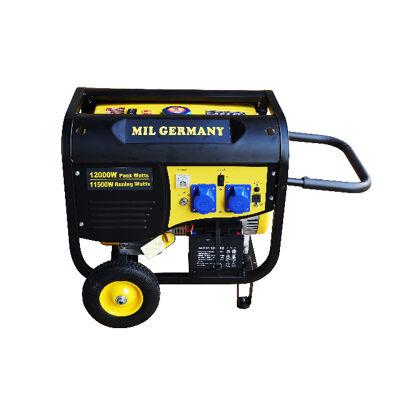 MIL Germany MGP11500E2 Stromgenerator Generator Benzingenerator Stromerzeuger Notstromaggregat