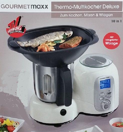 Discounter Restposten Thermo Multikocher Deluxe Küchenmaschine Gourmet Maxx