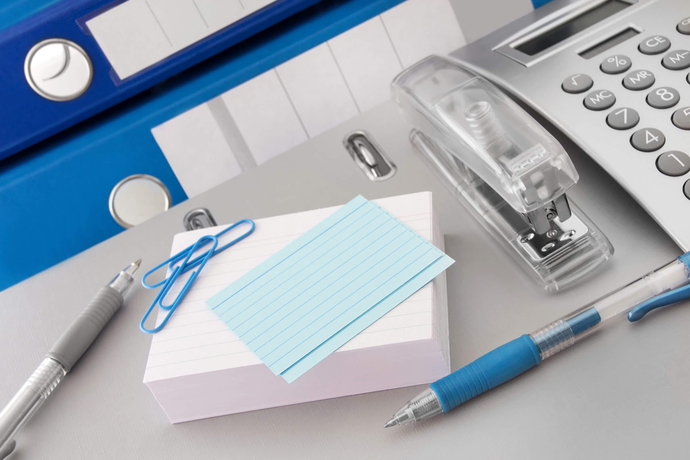 Büromaterial und Papier im Großhandel