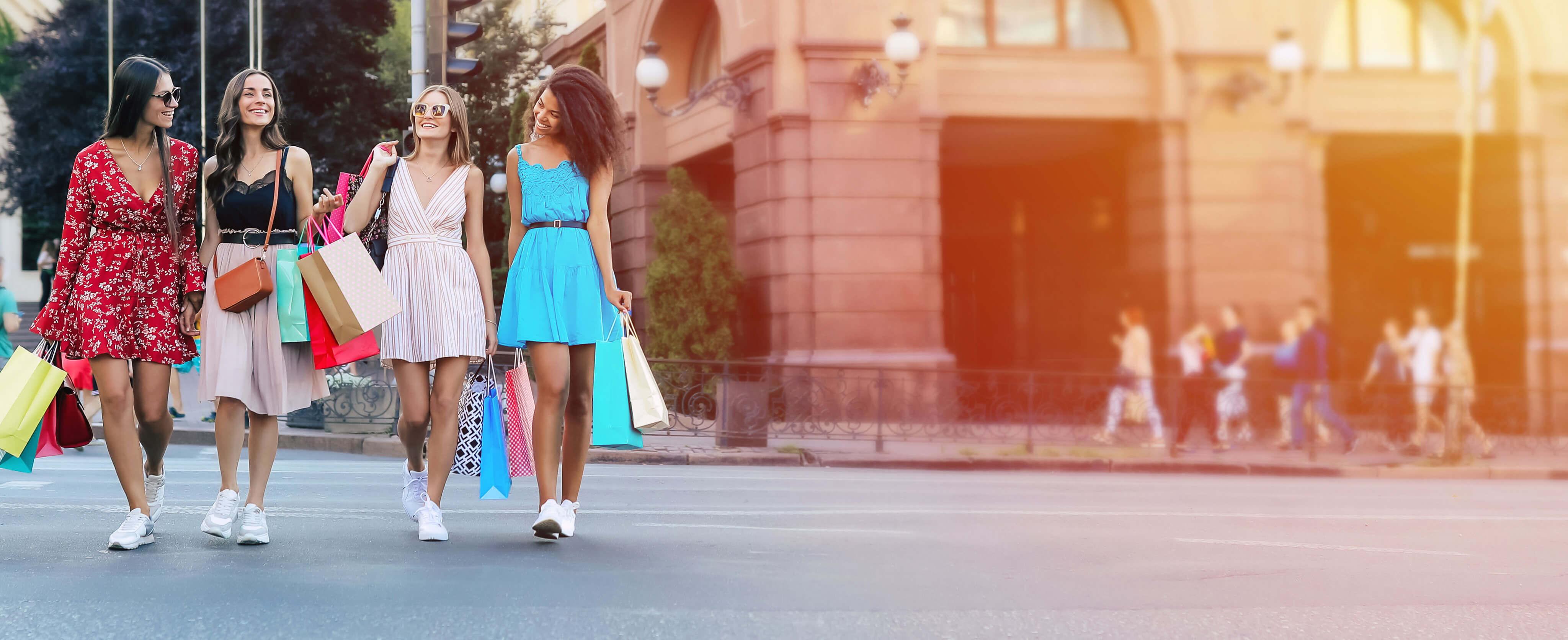 Damenmode im Großhandel