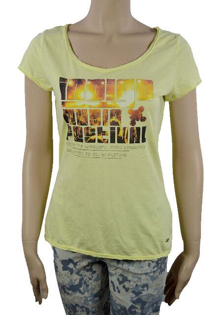 Mustang Damen T-Shirt printed Festival