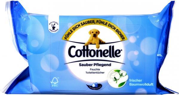Cottonelle - Feuchte Toilettentuecher clean-comfort