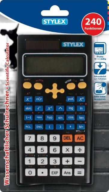 Stylex wissenschaftlicher Taschenrechner 240 Funktionen