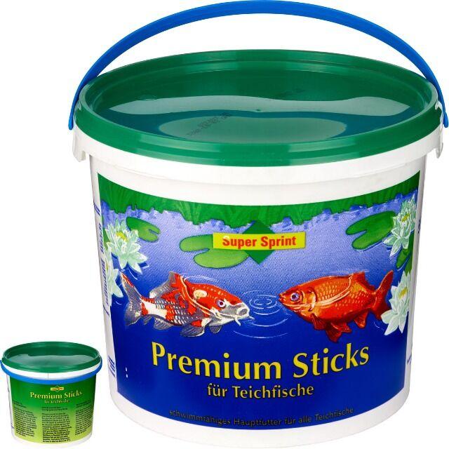 Fischfutter Premium Sticks fuer Teichfische