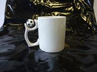 Kaffeetasse mit Fussball bedruckbar