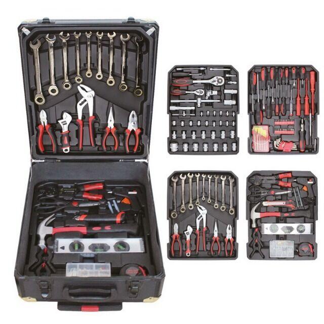 Werkzeugkoffer 190 teilig XXL-Set
