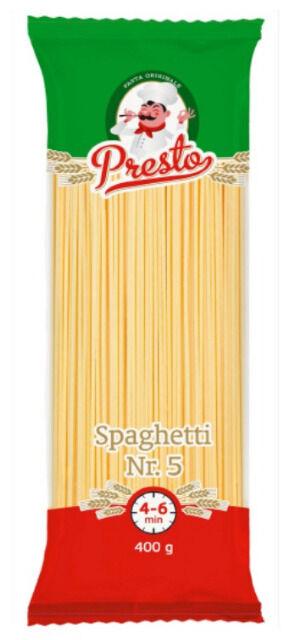 Nudeln Presto 400g Spaghetti Nr. 5
