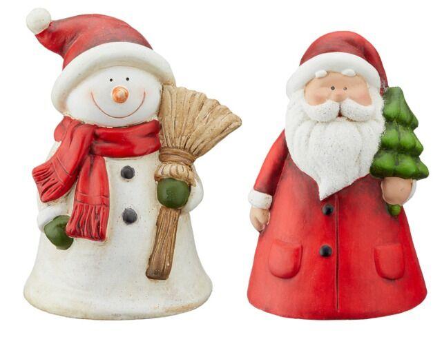 Keramik Zaundeko Weihnachten Weihnachtsdeko