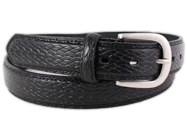 Herren Gürtel hochwertige Echt-Leder Lederguertel Jeansguertel für Business und Freizeit