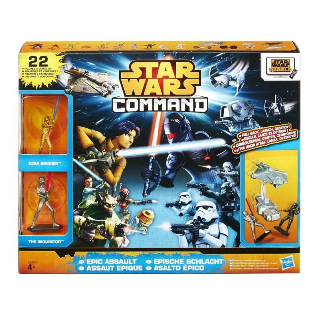 Hasbro Star Wars Command Epic Assault Pack 22 Teile