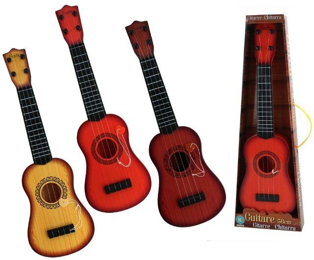 Gitarre in Holzoptik