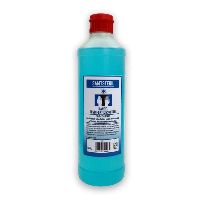 Hand Desinfektionsmittel in der Flasche