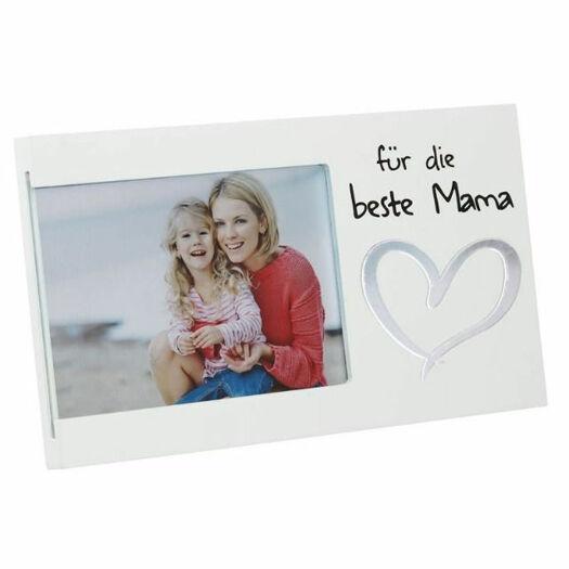 Geschenke für Frauen sind Bilderrahmen beste Mama aus Holz