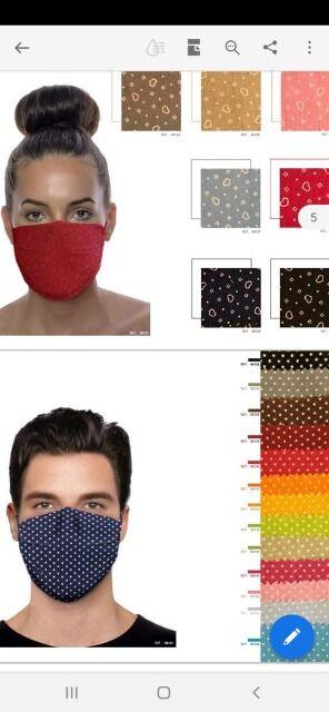 Ökologischer und waschbarer Mundschutz aus Baumwolle