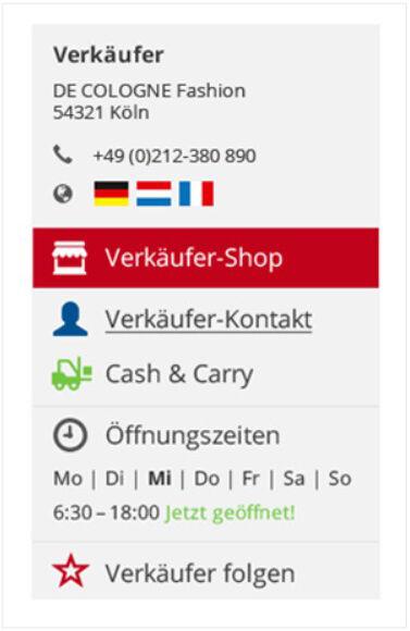 Seller Infobox