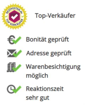 Anbieter-Qualifizierung auf RESTPOSTEN.de