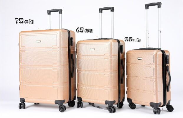 Reisekoffer 3 Stück(M/L/XL) Set Handgepäck Koffer Top Preis  mit TSA-Schloss