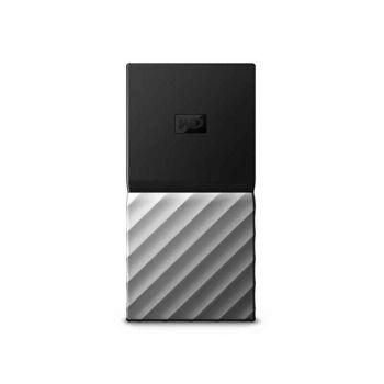 WD My Passport SSD 256 GB Schwarz - Silber WDBKVX2560PSL-WESN