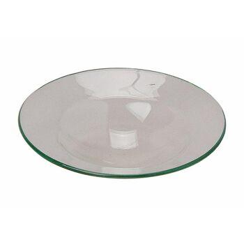 II Wahl-10011450  Ersatzglas für Duftlampe Transparent Ø12cm