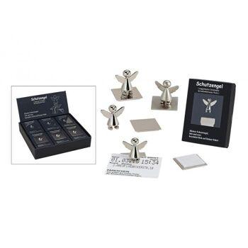 Zettelhalter Schutzengel Magnet 2-S, B3 x T3 x H3 cm