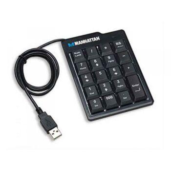 Manhattan Tastatur USB 176354 Schwarz