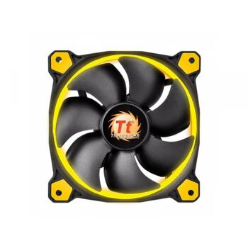 Thermaltake PC- Gehäuselüfter Riing 14 LED Yellow CL-F039-PL14YL-A