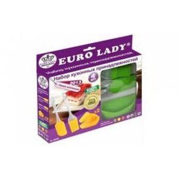 Euro Lady EL-4KHS; Küchengeräte 4 Stück Gelb