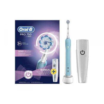 Oral-B Zahnbürste PRO 750 SENSI UltraThin + Reiseetui