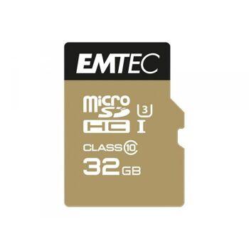 MicroSDHC 32GB EMTEC SpeedIn CL10 95MB/s FullHD 4K UltraHD Blister