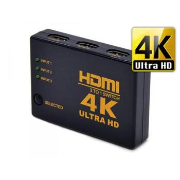 HDMI 4K Ultra HD Switch - 3 Port