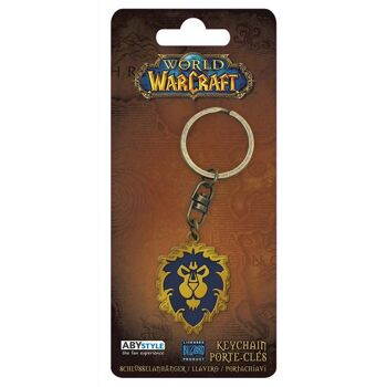 AbyStyle - World of Warcraft Schlüsselanhänger Alliance