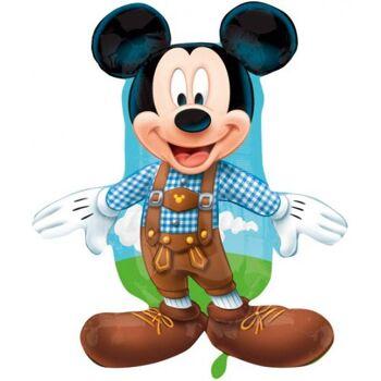 Folienballon Mickey Lederhosen