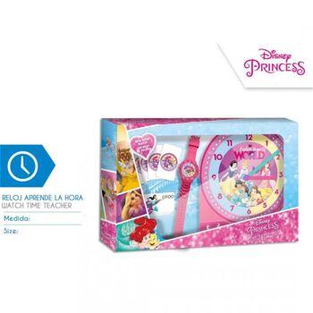 Disney Princess  - Uhren - Set zum Erlernen der Uhrzeiten