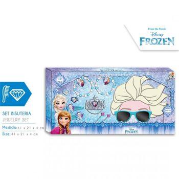Disney Frozen - Schmuckset inklusive 3D - Sonnenbrille - Geschenkset